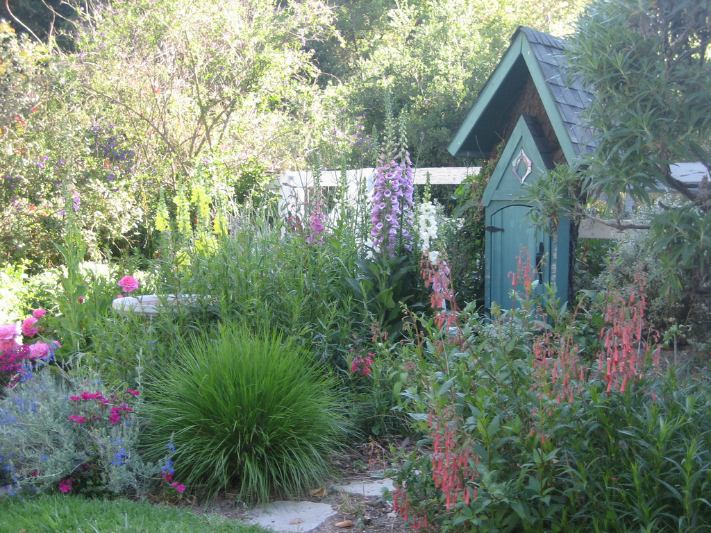 Cottage Garden Landscape Design In Orange County