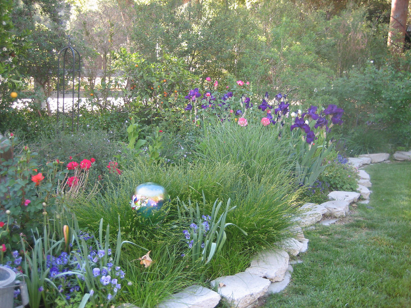 Orange County Cottage Garden Landscape Design