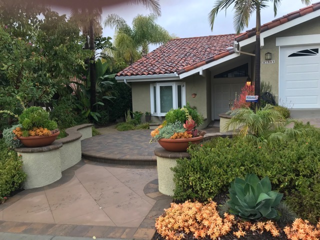 Cottage Garden Landscape Design in OC