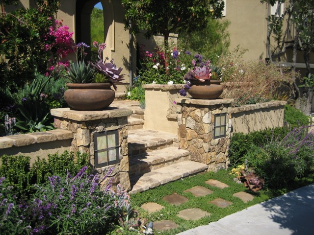 Photo Gallery of Native Mediterranean Landscape Design